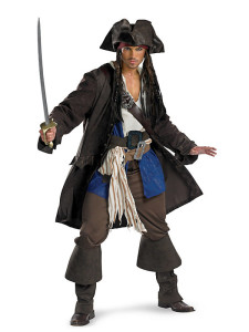 Mens Halloween Costumes - Captain Jack Sparrow