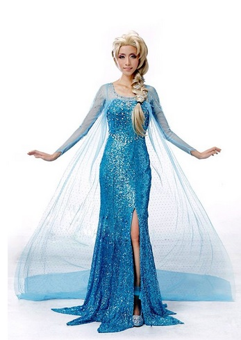 adult frozen costumes anna elsa cosplay and accessories. Black Bedroom Furniture Sets. Home Design Ideas